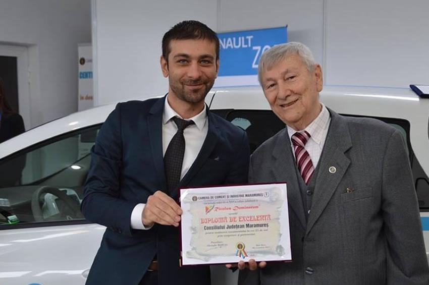 CONDOLEANŢE: Ing. Gheorghe MARCAȘ, un vizionar dar și un profesionist