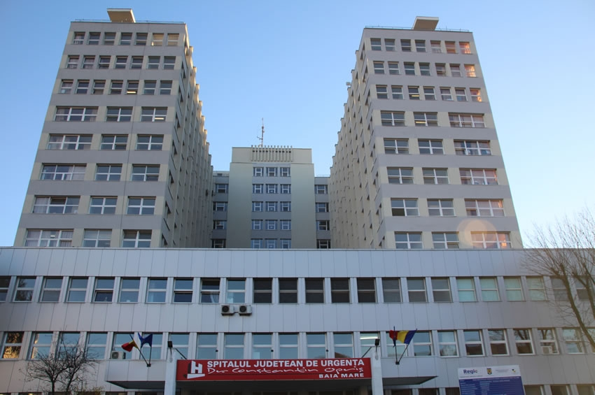 """Reabilitarea Spitalului Judeţean de Urgenţă """"Dr. Constantin Opriş"""" – Baia Mare"""