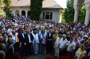"""Mii de pelerini prezenți la Mănăstirea """"Sfânta Ana"""" Rohia, de sărbătoarea """"Adormirea Maicii Domnului"""""""