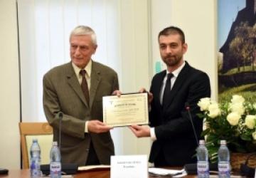 Scriitorul Ion Pop, Cetățean de onoare al județului Maramureș