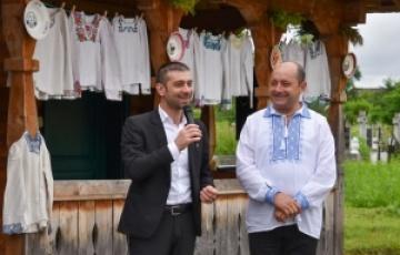 Președintele Consiliului Județean Maramureș, prezent la două evenimente culturale în comuna Săcălășeni