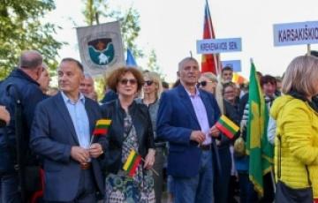 Reprezentanți ai județului Maramureș - vizită în districtul Panevėžys, (Lituania), cu prilejul Zilei Statalității