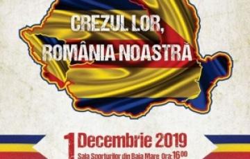 """CJ Maramureș și Ansamblul """"Transilvania"""" organizează trei zile de spectacole sub egida """"Crezul lor, România noastră"""""""