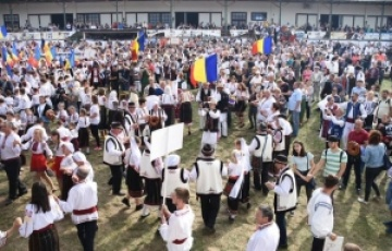 Maramureșul s-a reunit cu Basarabia la Centenar Fest