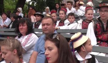 """Deschiderea oficială a Festivalului Internațional de Folclor pentru tineret """"Am fost ș'om fi"""""""