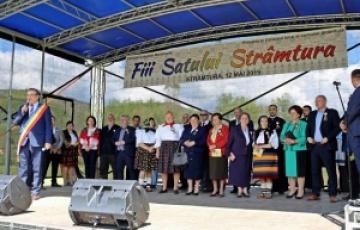 """Festivalul internațional de cântece și jocuri populare """"Fiii satului"""" la Strâmtura"""