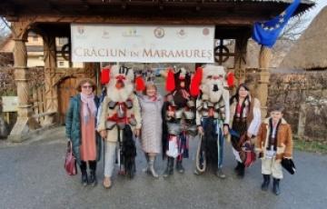 """Oaspeți din regiunile înfrățite cu Consiliul Județean, prezenți la evenimentul """"Crăciun în Maramureș"""", ediția a XI-a"""