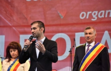 """Președintele Gabriel Zetea a felicitat administrația locală din Seini la evenimentul Zilele Orașului """"CETATEA ZYNIR"""""""